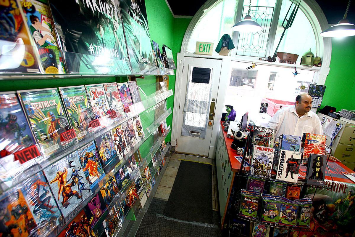 Comics Cubed