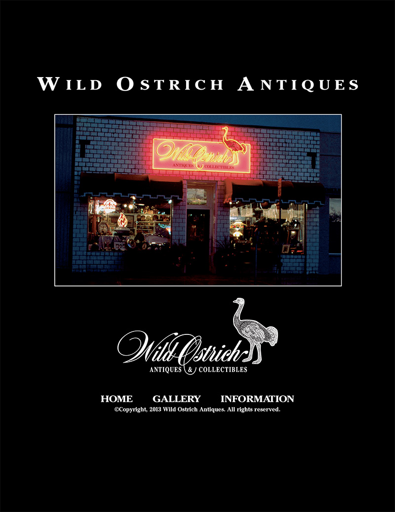 Wild Ostrich Antiques & Collectibles