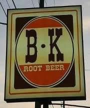 Barkers BK sign