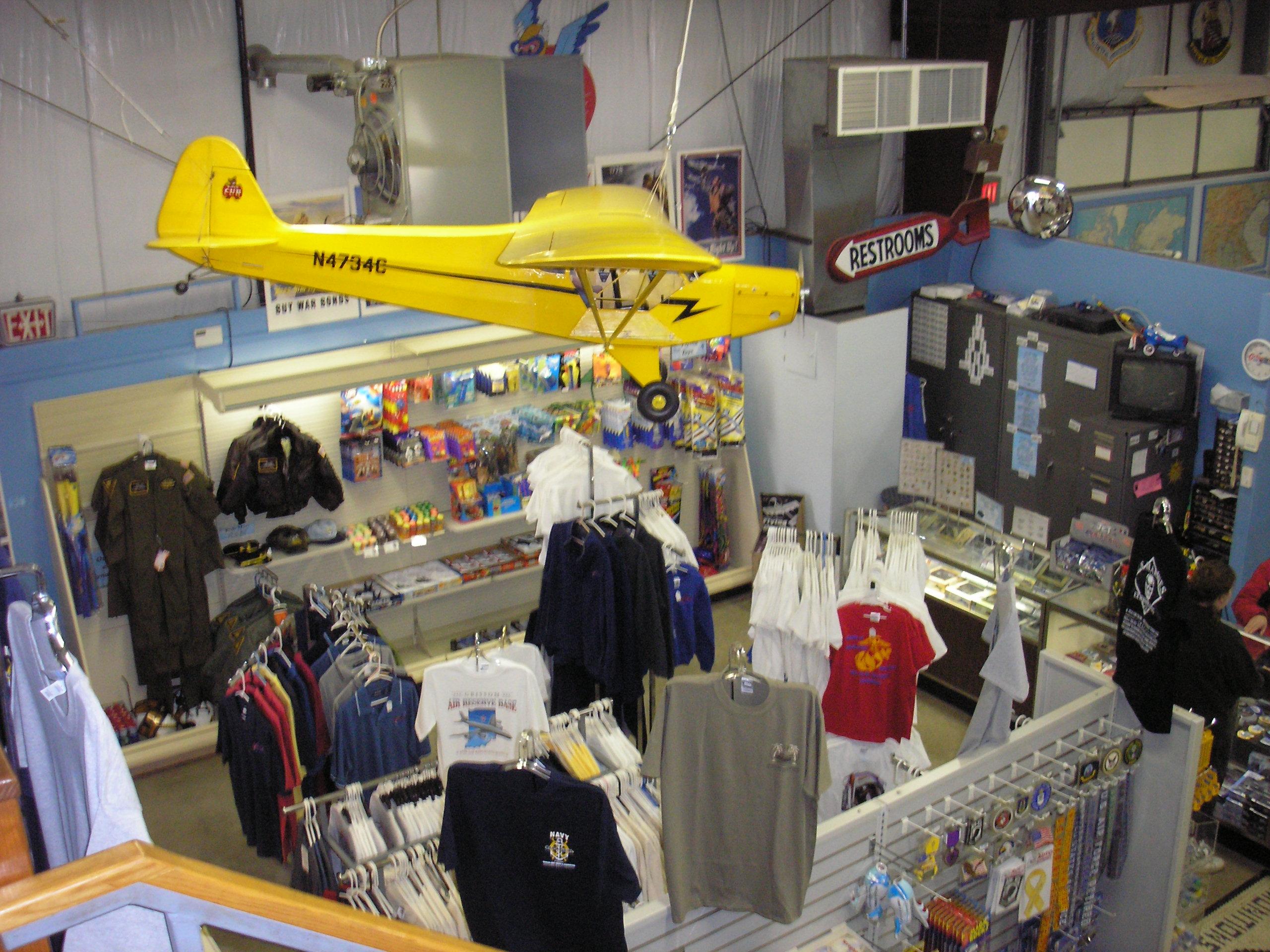 Grissom Air Museum gift shop