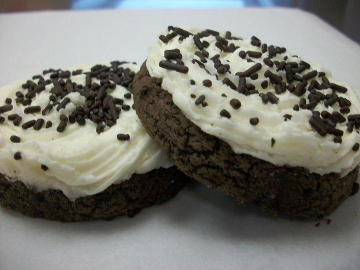 Blondies cookies